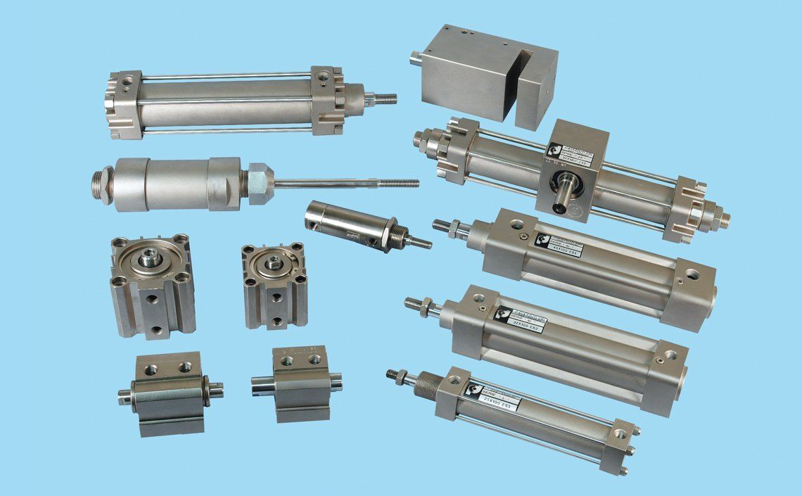 Pneumatic and mechanical components